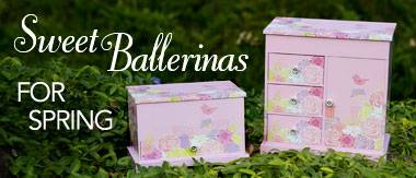 Sweet Ballerinas for Spring from Mele & Co.