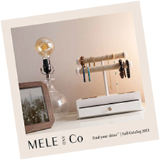 Mele & Co. lookbook cover