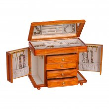 Sleek Striking Large Jewelry And Accessory Organizer In
