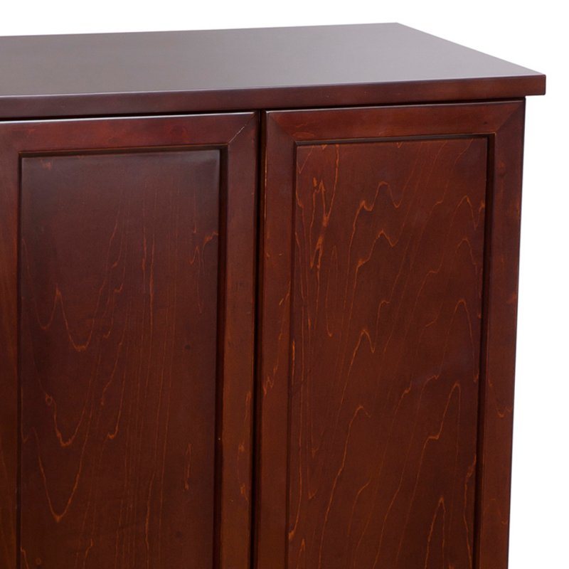 Sleek Modern Double Door Jewelry And Accessory Armoire In